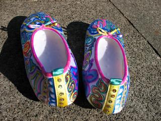 sequin slippers