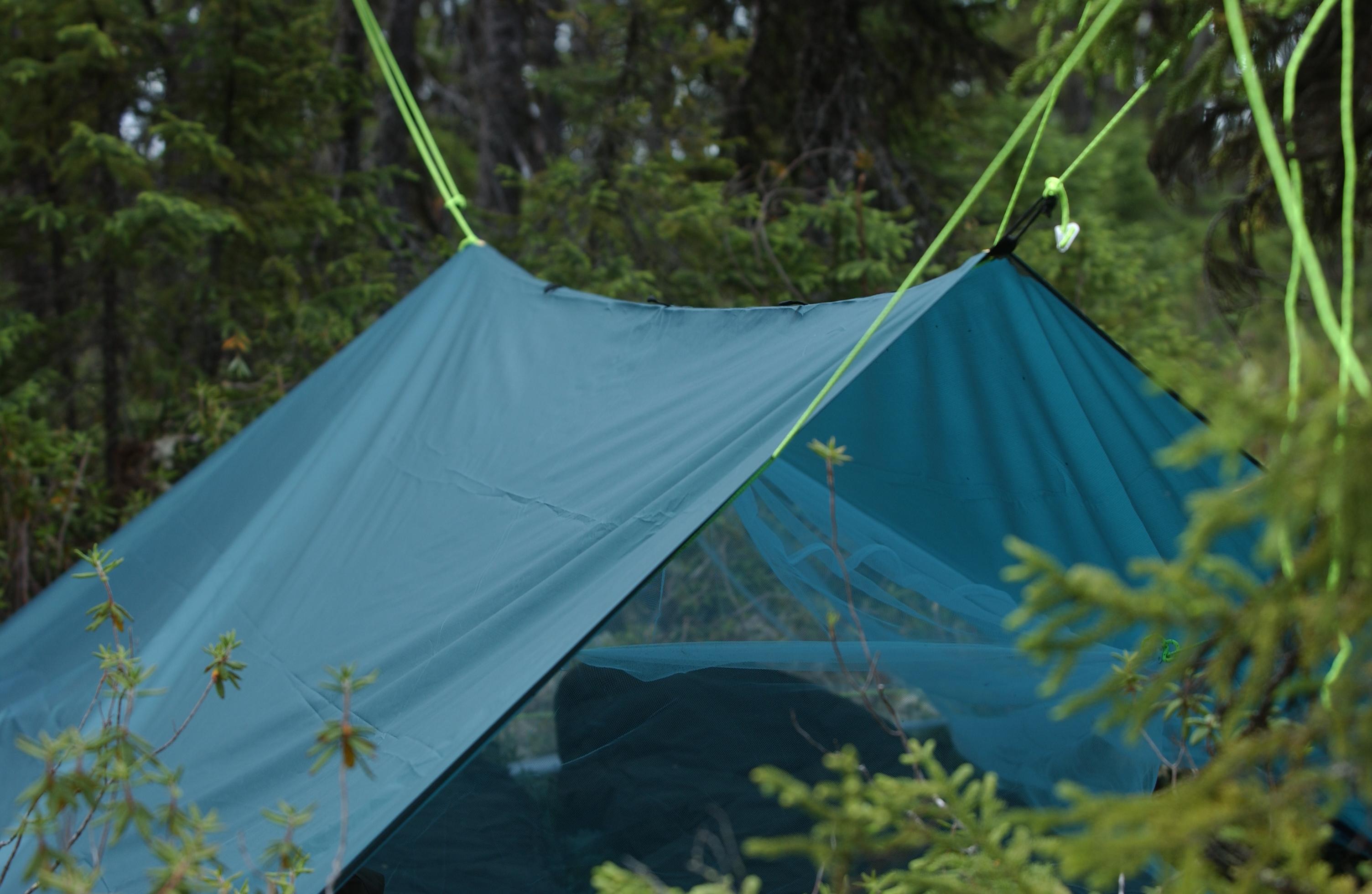 campement mobile n 2 avec la moustiquaire cette fois mi by peupleloup flickr photo. Black Bedroom Furniture Sets. Home Design Ideas