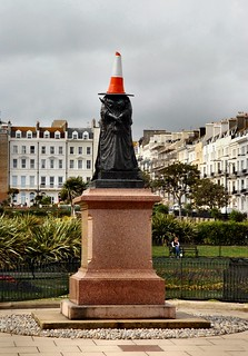 St. Leonards-on-sea, near Hastings, Statue of Queen Victoria