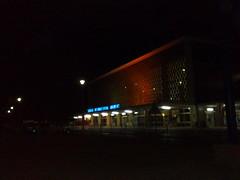 lusaka airport at night