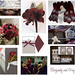 Wedding Wednesday: Burgundy, Maroon, Grey and Silver
