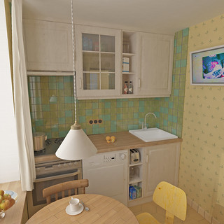 Kitchen 1 (3-d scetch)