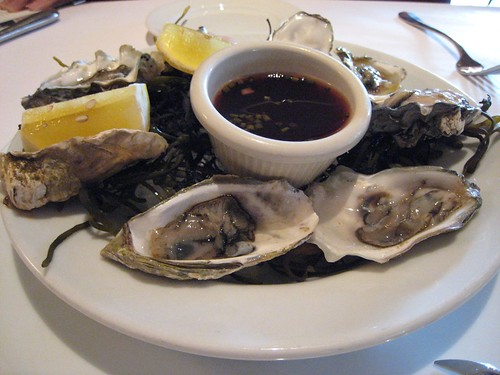 oysters, raw, mignonette IMG_6735