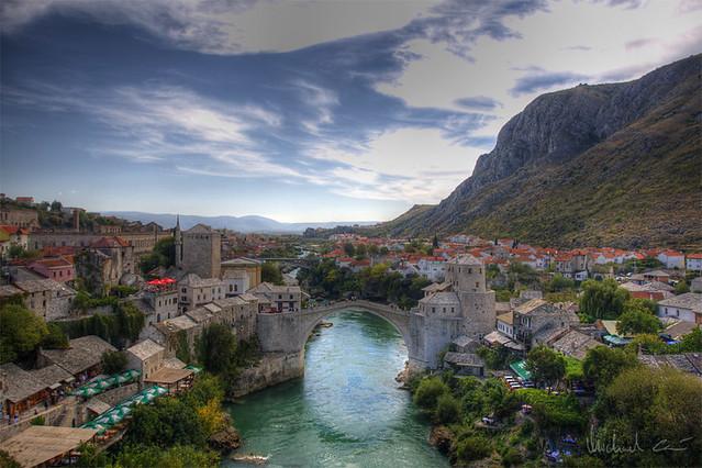 Bridge in Mostar