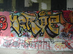 Graffiti in Oakley - Cincinnati, Ohio