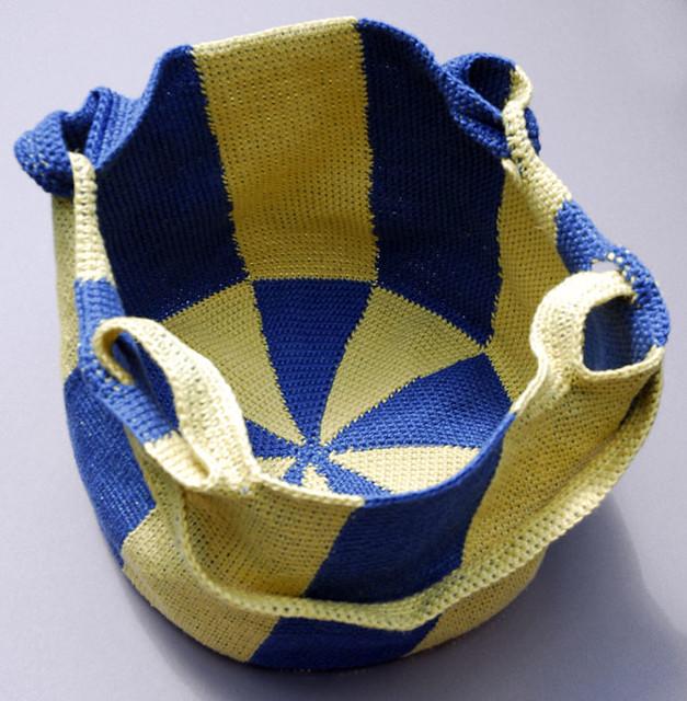 Tapestry Crochet Market Bag