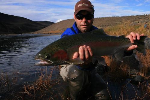 Steelhead fishing on the john day beginner s luck the for Siletz river fishing report
