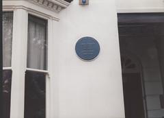 Photo of J. R. R. Tolkien blue plaque