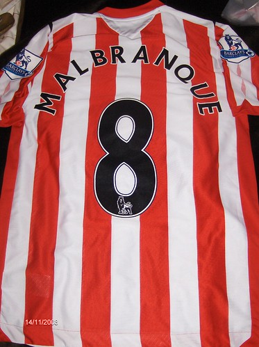 Steed Malbranque Match Worn 08/09