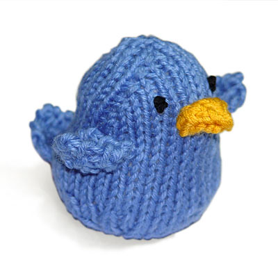 Knitted Twitter Bird Flickr - Photo Sharing!