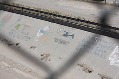 Graffiti on the U.S./México border