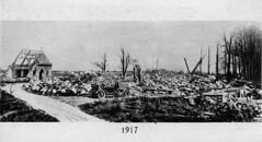 Chateau de Vadancourt, 1917