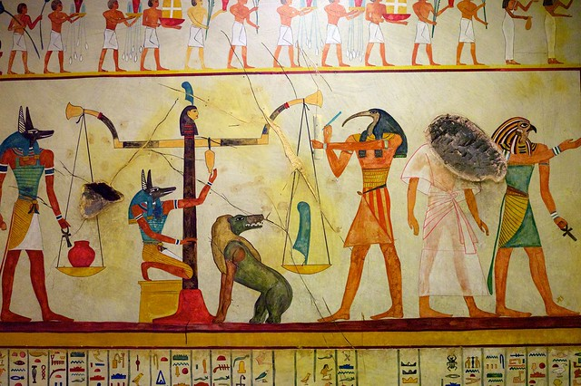 Egyptian tomb paintings flickr photo sharing for Mural egipcio