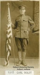 Carl Boldt, 1918.