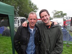 Norman Cook with Guy