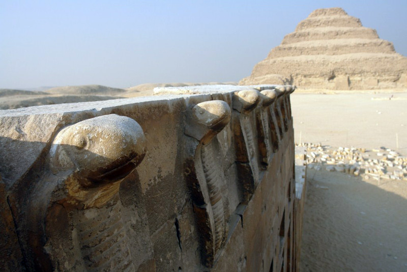 Pirámide escalonada de Zoser en Saqqara