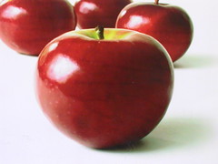 red, produce, fruit, food, apple,