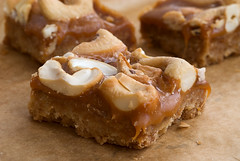 Butterscotch Cashew Bars