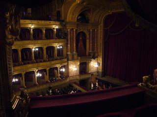 Image of Hungarian State Opera House near Budapest VI. kerület. architecture opera hungary budapest operahouse pest magyarország austriahungary andrássyút hungarianstateoperahouse
