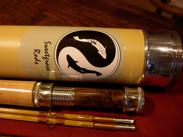 Sweetgrass Bamboo Fly Rod
