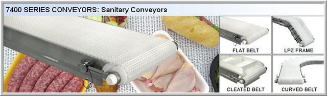 Dorner_7400_Sanitary_Conveyors | Dorner's 7400 Series Sanita