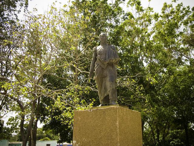 Plaza Bolívar de Puerto Nutrias