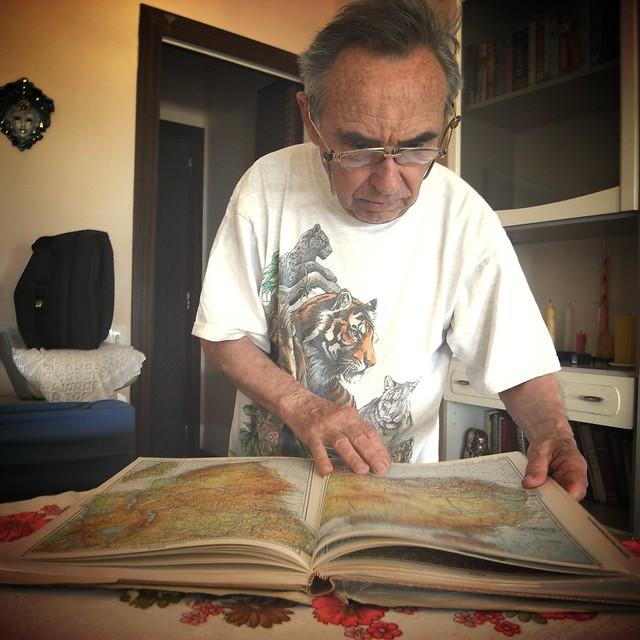 Jordi's father