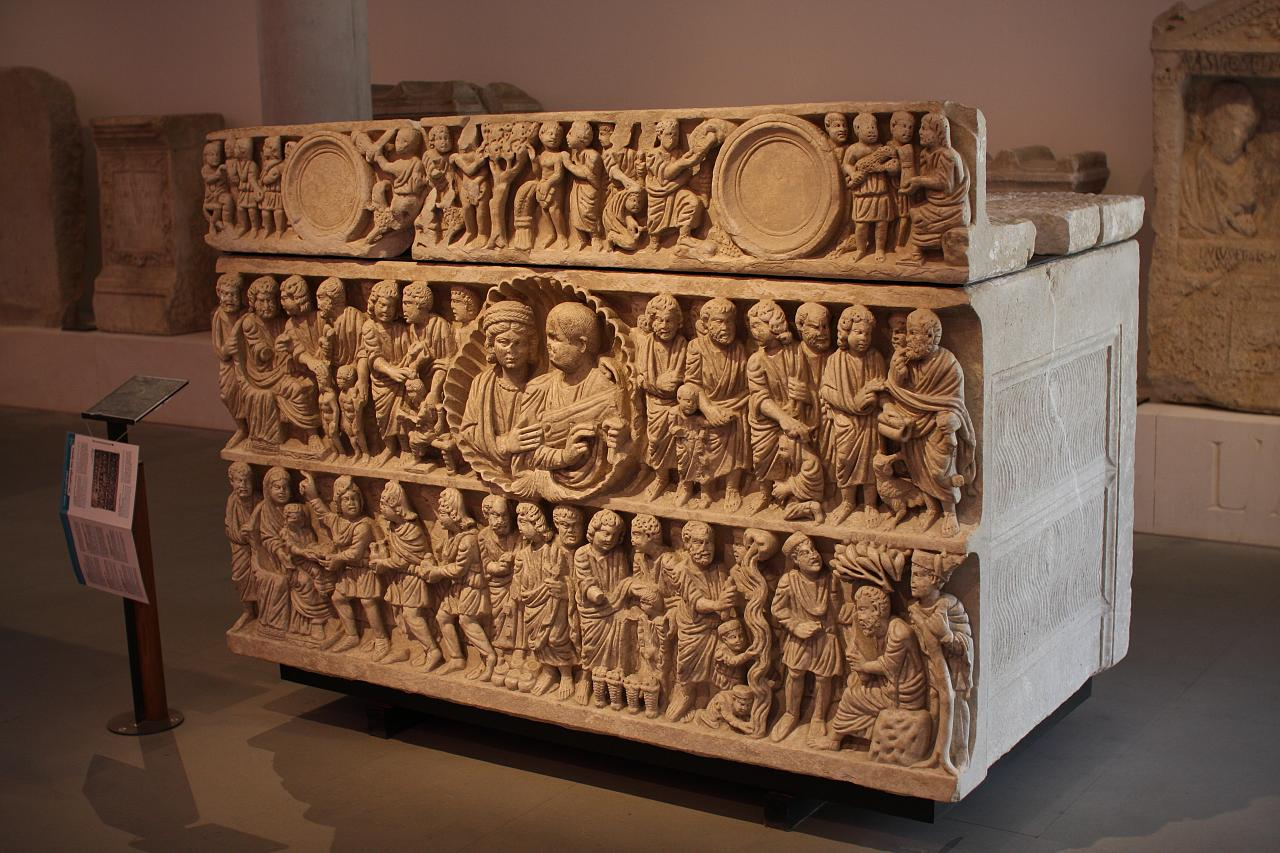 early christian sarcophagus a photo on Flickriver