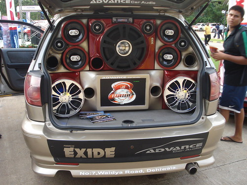 Ludicrous car speakers