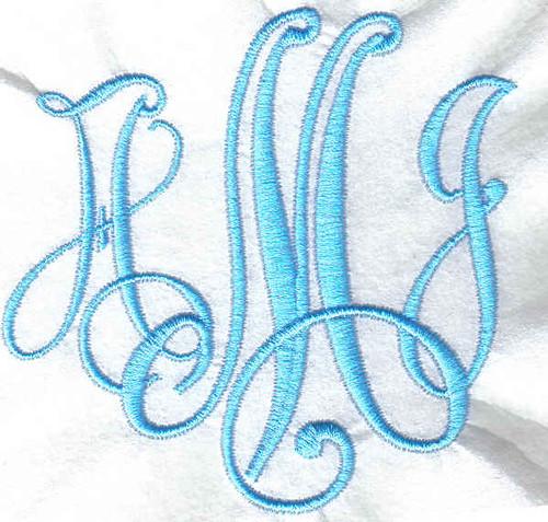 pe500 embroidery machine monogramming