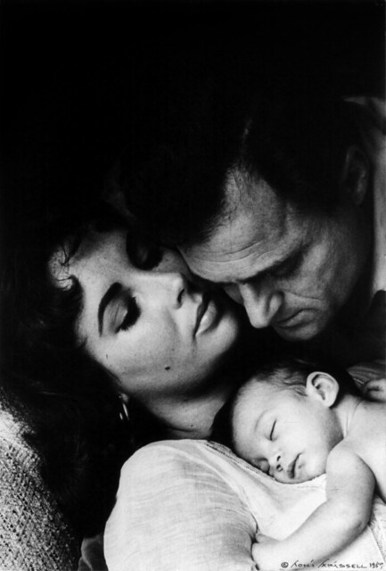 Liz Taylor, Liza Todd and Mike ...