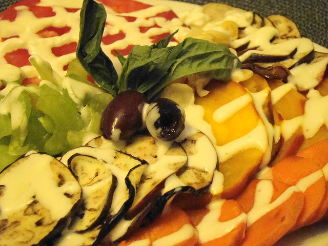 Autumn Vegetable Carpaccio by norwichnuts | Flickr - Photo Sharing!