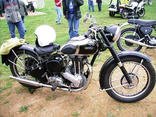 Parkes Vintage Motorcycle Rally1952 Ariel
