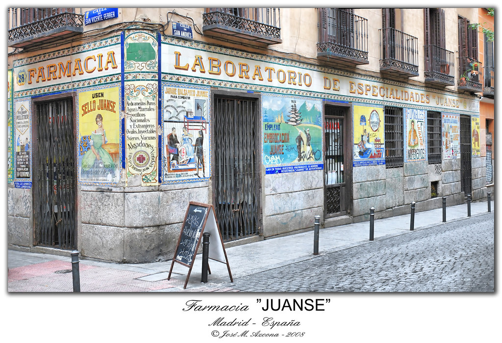 Madrid. Farmacia