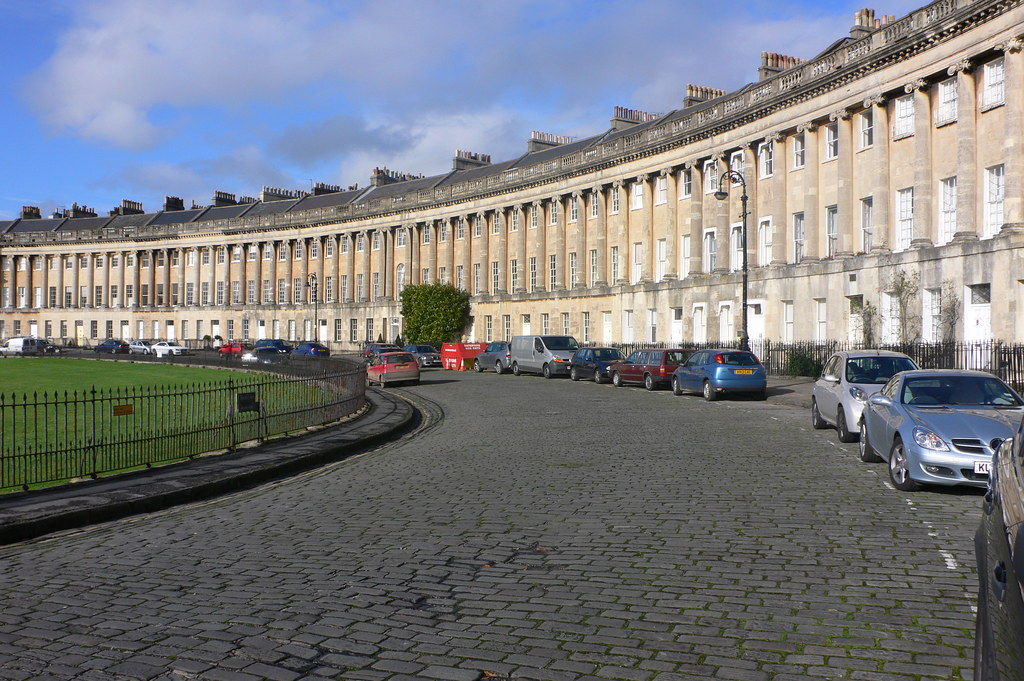 Royal Crescent in Bath