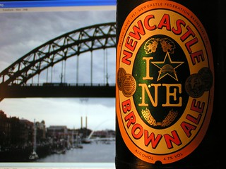 S&N, Newcastle Brown Ale, England