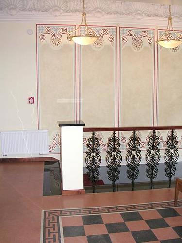 Tivoli Hotel, Prague - Stairs
