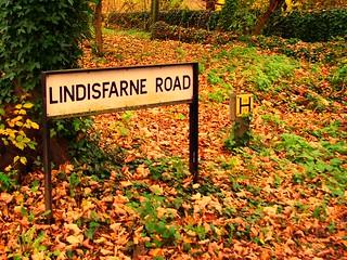 Street sign, UK