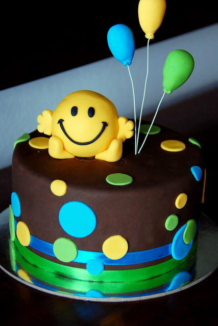 Mr Men A Gallery On Flickr - Mr tickle birthday cake