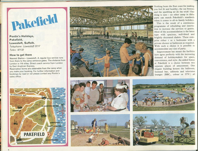 Pontins Brochure 1972 - Pakefield