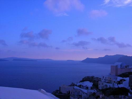 日出 希腊 爱琴海 小岛