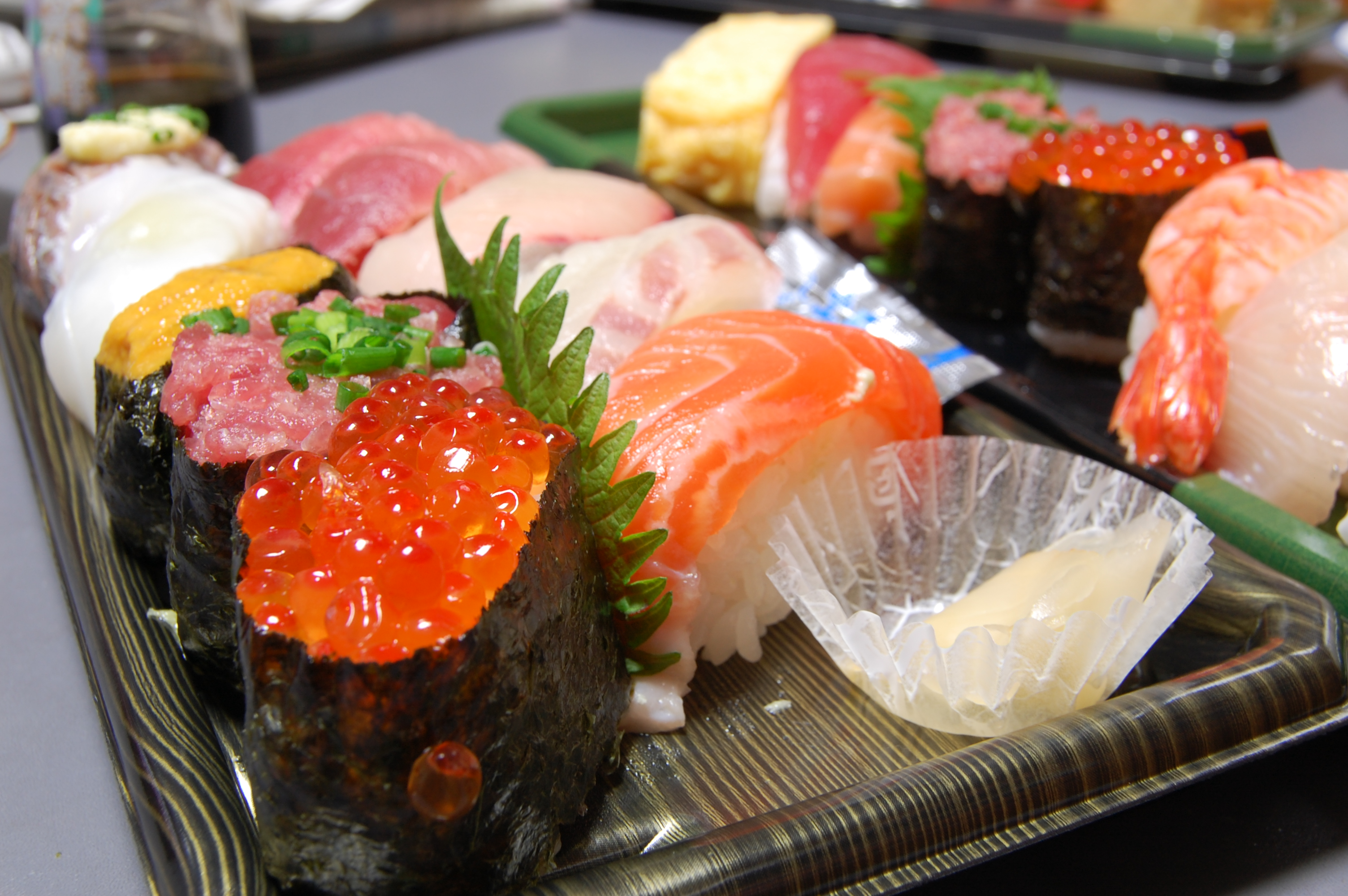 sushi form department store