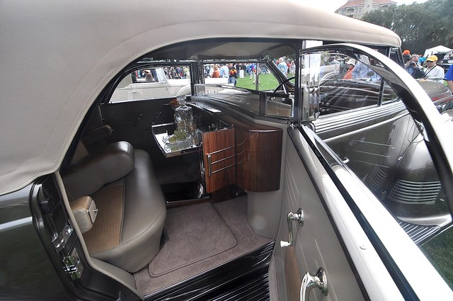 1938 Lincoln LeBaron Convertible Sedan at Amelia Island 2010