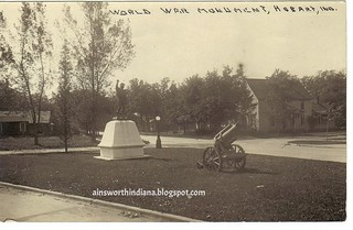 Doughboy Monument 1930s
