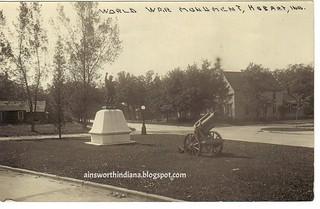 Doughboy Monument 1930s