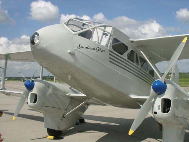 De Havilland DH 89 A 'Dragon Rapide'