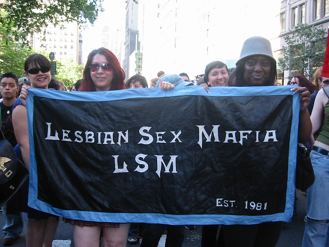 Lesbian Sex Mafia. Thousands of dykes have been coming together to march on ...