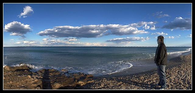 Escuchando el mar
