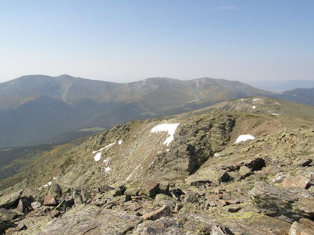 Vistas desde la cumbre del Peñalara. 2428 m.