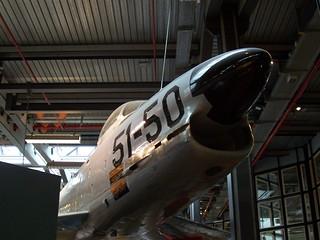 Front: F-86K Sabre